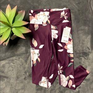 ‼️NWT Athleta Floral Elation 7/8 tight